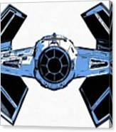 Star Wars Tie Fighter Advanced X1 Canvas Print