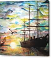 Starboard Flight Canvas Print