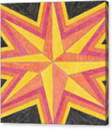 Starburst 2 Canvas Print