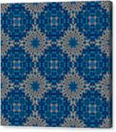 Stardrop Diamond Blue Canvas Print