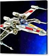Starfighter X-wings - Da Canvas Print