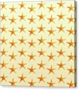 Starfish Pattern. Canvas Print