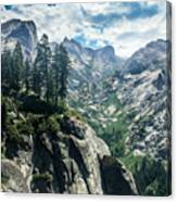 Staring At The Continental Divide Canvas Print