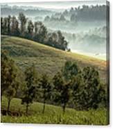 Stark Ridge Morning Canvas Print