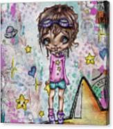 Starla Jones The 3rd Intergalactic Star Jumper Canvas Print