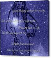 Starlight Of Space And Time 3 Canvas Print