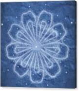 Starry Kaleidoscope Canvas Print