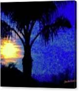 Starry Night At Casapaz Canvas Print