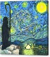 Starry Night Bethlehem Canvas Print
