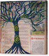Starry Night-inspired Tree Canvas Print
