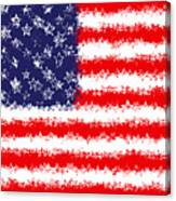 Stars And Stars And Stripes Canvas Print