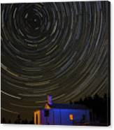 Startrail Canvas Print