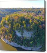 Starved Rock Ill, Canvas Print