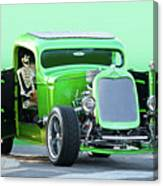'starv'n Marvin' Hot Rod Pickup Canvas Print