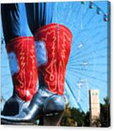 State Fair Of Texas Icons Canvas Print