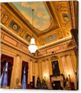 State House Christmas Canvas Print