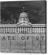 State Of Utah  Canvas Print