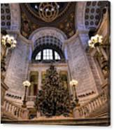 Stately Christmas Tree Canvas Print