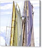 Stately Mariners Canvas Print