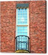 Stadshuset Window Canvas Print