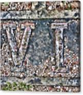 Station 6 Faded - San Juan Capistrano Canvas Print