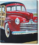 Station Wagon Canvas Print