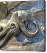 Statue Details Canvas Print