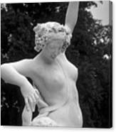 Statue London England Park Canvas Print