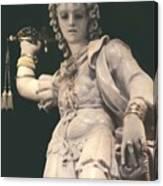 Statue Michael Canvas Print