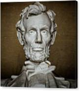 Statue Of Abraham Lincoln - Lincoln Memorial #7 Canvas Print