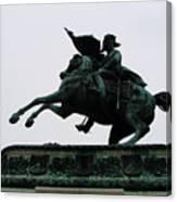 Statue Of Archduke Charles, Heldenplatz, Vienna Canvas Print