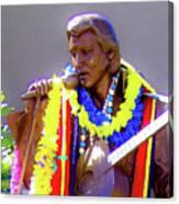 Statue Of, Elvis Presley - Honolulu, Hawaii - 565 C Canvas Print