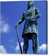 Statue Of Leif Ericksson  Canvas Print