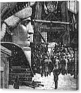 Statue Of Liberty, 1881 Canvas Print