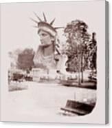 Statue Of Liberty 1883 Canvas Print