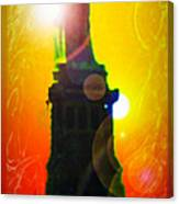 Statue Of Liberty 7 Canvas Print