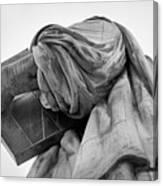 Statue Of Liberty, Arm, 2 Canvas Print
