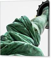 Statue Of Liberty, Arm, 3 Canvas Print