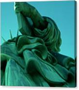 Statue Of Liberty New York City Canvas Print