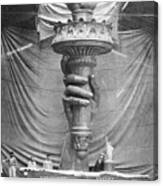 Statue Of Liberty, Paris Canvas Print
