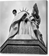 Statue Of Liberty, Tall Canvas Print