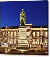 Statue Of William Of Orange On The Plein - The Hague Canvas Print
