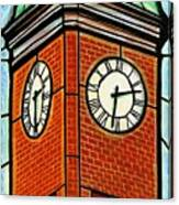 Staunton Clock Tower Landmark Canvas Print