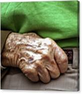 Steadying Hand Canvas Print