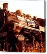 Steam Engine 3716 Canvas Print