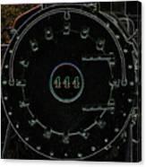 Steam Engine 444 Canvas Print