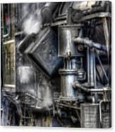 Steam Engine Detail Canvas Print