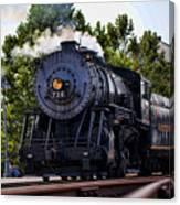 Steam Engine Of Cumberland Canvas Print