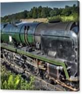Steam Locomotive 34027 The Taw Valley Canvas Print