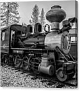 Steam Locomotive 5 Canvas Print